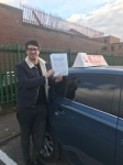 MATT passed with L Team Driving School