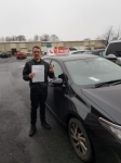 MATTHEW passed with L Team Driving School