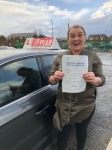 STEPH passed with L Team Driving School