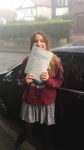 OLIVIA passed with L Team Driving School