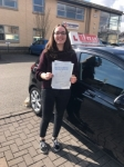 JENNY passed with L Team Driving School