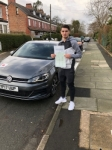 BRAHIM DIAZ passed with L Team Driving School
