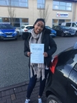 MUNIRA passed with L Team Driving School