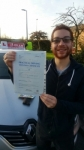 STEVE  passed with L Team Driving School
