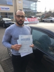 SAMUEL passed with L Team Driving School