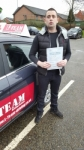 Sean Bird passed with L Team Driving School