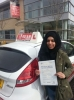 AYISHA passed with L Team Driving School