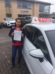 CECILIA  passed with L Team Driving School