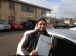 nav passed with L Team Driving School