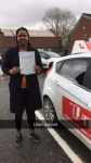 Lilian passed with L Team Driving School