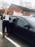 Ludmila passed with L Team Driving School