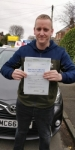 Barry passed with L Team Driving School