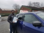 Prem passed with L Team Driving School