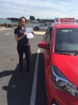Corrina passed with L Team Driving School