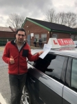 Reza passed with L Team Driving School