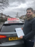 Asif passed with L Team Driving School