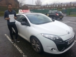 aslam passed with L Team Driving School
