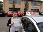 LOIISE MORRIS passed with L Team Driving School