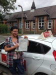 MONIKA passed with L Team Driving School