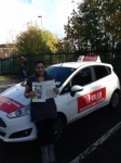 SUMIYA passed with L Team Driving School
