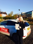 KIRSSEY passed with L Team Driving School