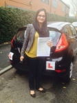 RABIA passed with L Team Driving School