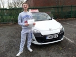 dave passed with L Team Driving School