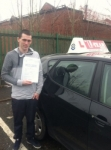 vin passed with L Team Driving School