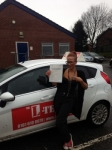 alinzia.. passed with L Team Driving School