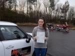 Jess Coleman passed with Mark Camburn Driving School