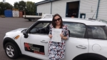Di Hunter passed with Mark Camburn Driving School