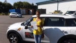 Amy Aberra passed with Mark Camburn Driving School