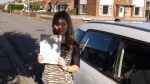 Olivia Newell passed with Mark Camburn Driving School