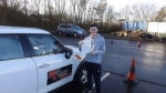 Bradly Clare passed with Mark Camburn Driving School