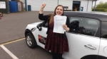 Bev Coppock passed with Mark Camburn Driving School