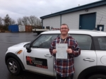Darren Howden passed with Mark Camburn Driving School