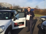 Brad Greenhalgh passed with Mark Camburn Driving School