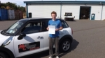 Jake Burrows passed with Mark Camburn Driving School