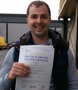 Thank you Michael for your help to pass my driving test first time with only one mistake. I got amazing lessons from great teacher . I would recommend Michael to everyone who wants to learn quickly and pass without any stress. Thanks a lot