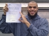 Bilal passed with Learn with Michael