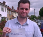 DANYEL (Frogmore Ave, HAYES) passed with Learn with Michael