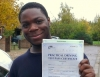 Eke (Norwood Cres,YEADING) passed with Learn with Michael