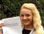GEORGINA (Weirside Gardens, West Drayton) passed with Learn with Michael