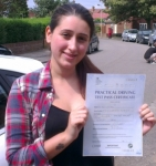 Jasmin passed with Learn with Michael