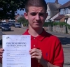 Jon (Croyde Ave, HAYES) passed with Learn with Michael