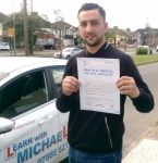 JONATHAN passed with Learn with Michael