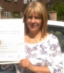 Karen  (Larch Cres Yeading) passed with Learn with Michael