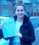 Kimberley (Kingston Ave West Drayton) passed with Learn with Michael