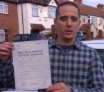 Marco (Waye Ave, CRANFORD) passed with Learn with Michael