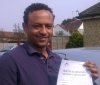 Milkias   (Croyde Ave, HAYES) passed with Learn with Michael